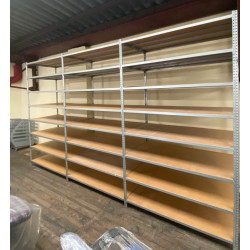 Rayonnage d'occasion  pour stockage