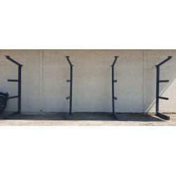 Colonnes cantilever d'occasion pas cher rack à ferraille Rack pour tôle rayonnage pour charpentier