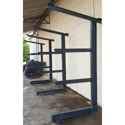 rack pour tuyaux rack à ferraille Rack pour tôle rayonnage pour charpentier