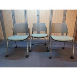 Lot de 3 chaises visiteurs...
